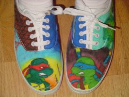 Photo: Raph and Leo shoes by Shellsweet