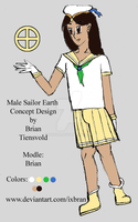 Male Sailor Earth Consept by Ixbran