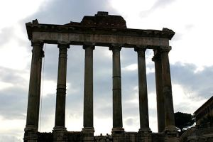 Temple Of Saturn by primalx