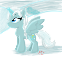 Queen Elsa Pony by WolfRusher