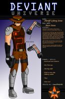 DeviantUniverse - Sheriff Cyborg Stone by CrystalViolet500