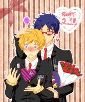 Happy Valentine's Day! (Reigisa) by point0k