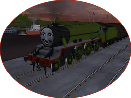 Railway Series Portraits - Henry by wildnorwester