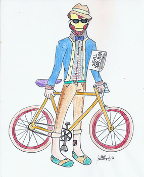 Request: Hipster Ironman by thebrittanylee