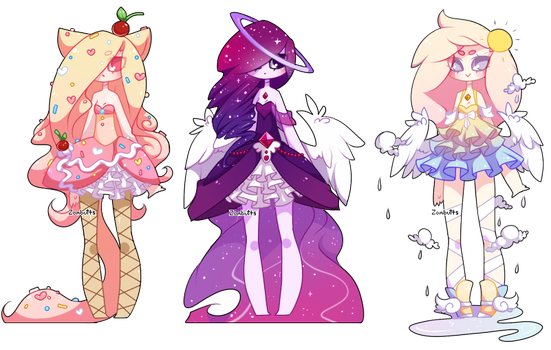 Adoptables Batch 15: CLOSED by Fawniive