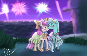 Happy New Year by Reikomuffin