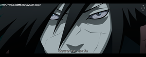 Naruto Manga 646 I am by Itachis999