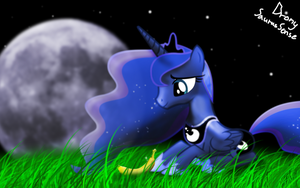 Luna in the moonlight by BronysaurusSense