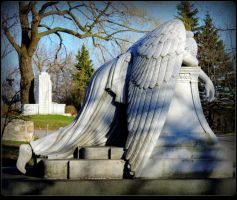 Angel Of Grief by JocelyneR