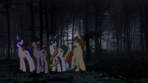 Where the Slenderman Lingers by BleedingAutumn