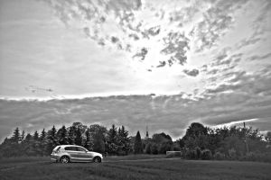 1-series black and white by lokkydesigns