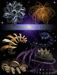 3D Fractals on transparent background by DiZa-74