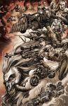 Mad Max: Fury Road tribute (colored) by Titancross