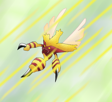 wasp fakemon by plyt
