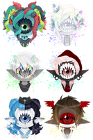 [ Xynthii Head-Shot Batch ] by Nocturnally-Blessed