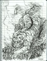 giant tiger by MADMANHales