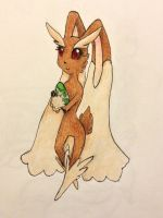 Lopunny by FountainStranger
