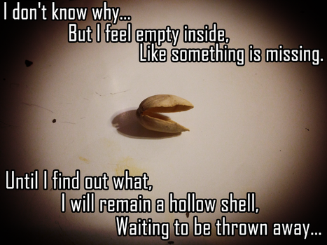 Fred The Depressed Pistachio by hehehihi2023