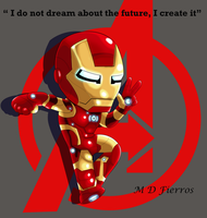 Re:Chibi Iron man 2 by Ironmatt1995