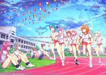 School Sports Day by airibbon