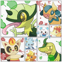 My Favorite Fakemon by Royrot