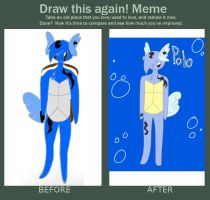 Before and After: Polo by XDTheSnivy