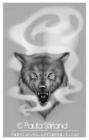 Wolf in the Mist by hatefueled