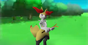 MMD Newcomer Braixen + DL by Valforwing