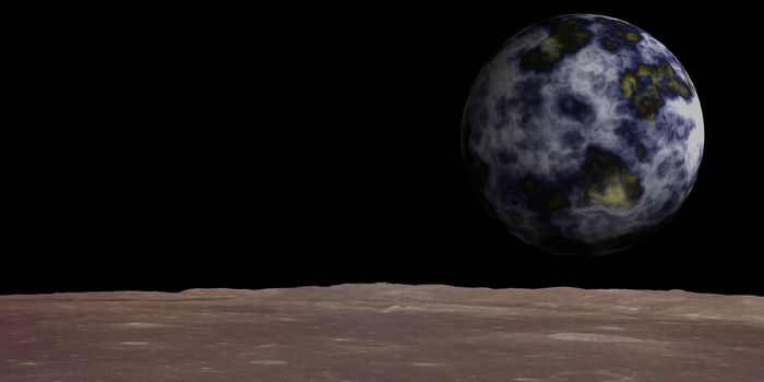 Earthrise by Agkito