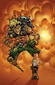 JUNKRAT by CThompsonArt