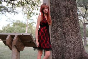 Red Dress by thepunkexperience