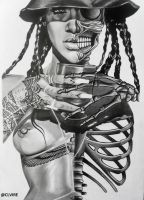 Rihanna by clvire