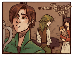 Lost in the Vale - Chapter 1 - Page 11 UP! by CrystalCurtisArt