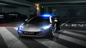 mclearn MP4-12C police. NFS by daz1200