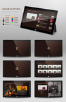 Louis Vuitton Windows 8 Modern UI App by michalkosecki