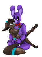 .:Bonnie x Ych:. .:CLOSED:. by PurplePatchworks