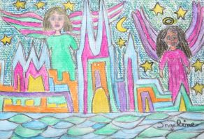 Angels of cologne by ingeline-art