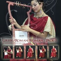 Roman Greek Woman - Pack Two by Georgina-Gibson