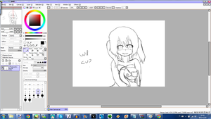 ELLIE cover pic wip by CalmSnow