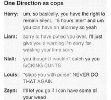 One direction as cops by DirectionForLyfe