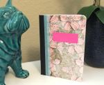 Flower Pattern Notebook by Madylyne