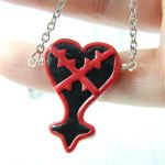 Heartless symbol necklace by TrenoNights