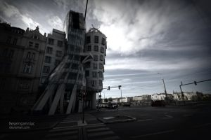 Prague 2012 The dancing house by ReseInsomniac