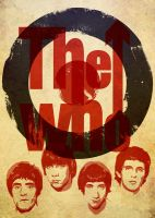 The Who Poster by Navello