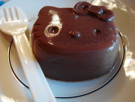 Hello Kitty Pudding by Suuperx