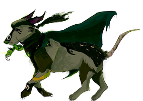 your lokmont evolved into a racing breed of dogs by Blitzoren