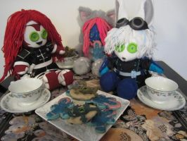 Cookies,monsters and tea oh my by Rei2jewels