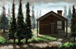 House in Forest 2 by Erlson