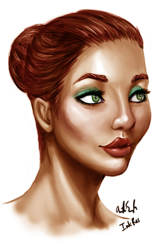 Practice Face Finished by InkRose98
