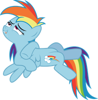 Rainbow Dash - She is Super Excited by MrCabezon